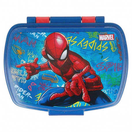 Boite gouter Spiderman Graffiti 16 CM