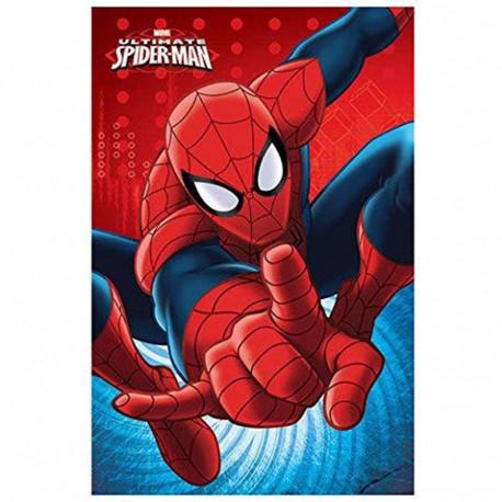 Plaid polaire Spiderman 100 x 140 cm - Couverture