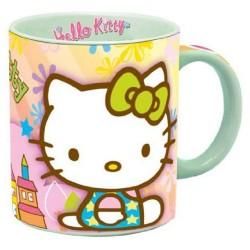 Hello Kitty veelkleurige mok