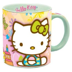Taza multicolor Hello Kitty