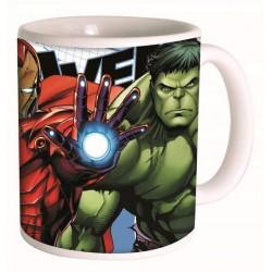 Mug Avengers - Iron Man y Hulk