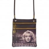 Kleine tas zwaaide Marilyn Monroe Manhattan 17 cm