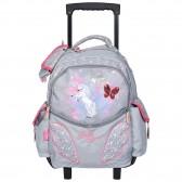 Bella Sara Wings 43 CM High-end wheeled backpack