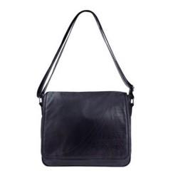Playboy black leather Messenger bag