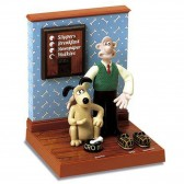Wallace and Gromit 3D Talking Awakening - Avenue of the Stars