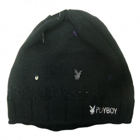 Playboy black bonnet