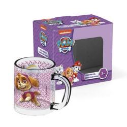 Pat Patrol Girl Glass Mug - Cup