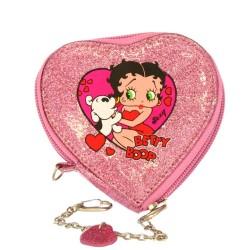 Betty Boop corazón paja moneda titular