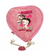 Betty Boop Herz Stroh Münze Halter