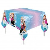Disney Snow Queen Plastic Tablecloth 120x180cm - Parties and Anniversaries