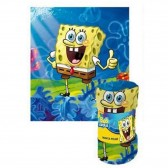 Polar Plaid Sponge Bob 120 x 140 cm - Cover