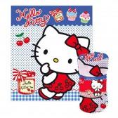 Plaid polaire Hello Kitty 120 x 140 cm - Couverture