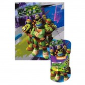 Polar Plaid Ninja Turtles 120 x 140 cm - Abdeckung