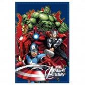 Plaid polaire Avengers 100 x 140 cm - Couverture Marvel