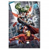Polar Plaid Avengers 100 x 140 cm - Marvel Cover