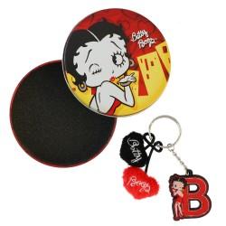 Porta chiave iniziale Betty Boop
