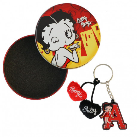 Porte clés Betty Boop Initiale