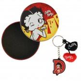 Porte clés Betty Boop Initiale