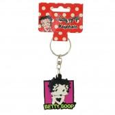 Porte clés Betty Boop robe rouge