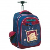 Pooh Forever Friends 46 CM Wheeled Backpack - Trolley Bag