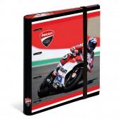 Classeur A4 Moto Ducati Corse 32 CM - Elastique