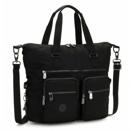 Kipling new ERASTO Rich Black 50 CM toe bag