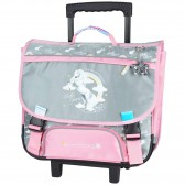 Cartable à roulettes Bella Sara 41 CM Trolley Cheval