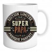 "Mug "" Super Papa Edition Limitée """