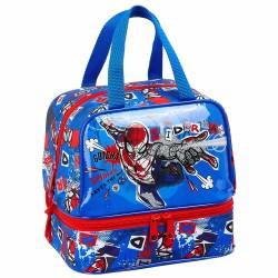 Sac goûter Spiderman Perspective 20 CM - Sac déjeuner