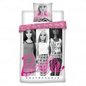 Parure housse de couette Barbie 140x200 cm et Taie d'oreiller