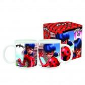 Milagrosa ladybug taza de cerámica - Copa