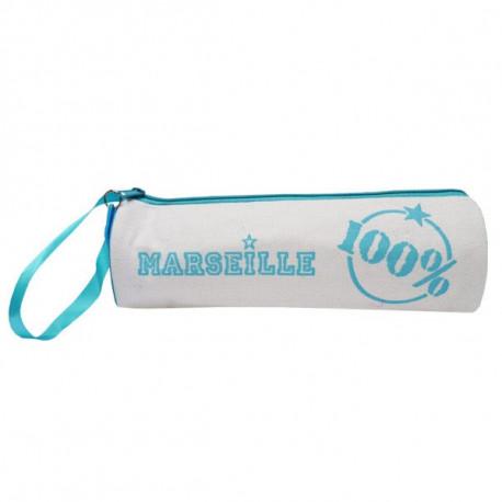 Trousse 100% Marseille blanche 20 CM