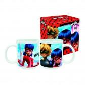Mug Miraculous Ladybug et Chat Noir - Tasse