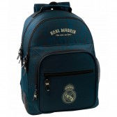 Sac à dos Real Madrid One Color 42 CM - 2 Cpt