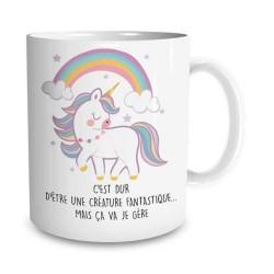 Fantástica taza de unicornio