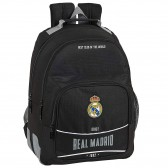 Sac à dos Real Madrid Black 42 CM - 2 Cpt