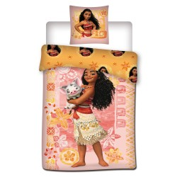 Vaiana 140x200 cm duvet cover and pillow taie