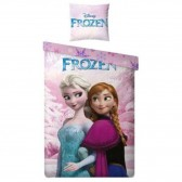 Cotton duvet cover Snow Queen 140x200 cm and Pillow Taie