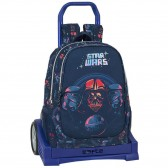 Sac à dos à roulettes Star Wars Death Star 43 CM Haut de Gamme - Cartable trolley