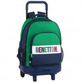 Benetton 1965 Vintage 45 CM Trolley Top Of Range Backpack