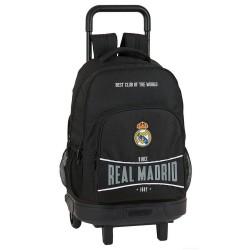 Real Madrid Total Black 45 CM Trolley Top Of Range Rucksack