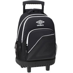 Umbro Black and White 45 CM Trolley Top-of-The-Range Backpack