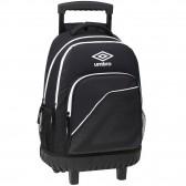 Umbro mochila en blanco y negro de 45 CM