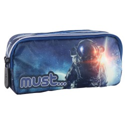 Trousse Must Energy Austronaute 20 CM - 2 Cpt
