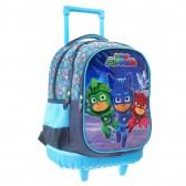 Mochila con ruedas PJ Masks 28 CM - Trolley escolar