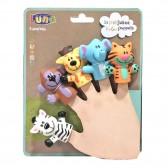 Marionnettes à doigts Luna 5 pcs