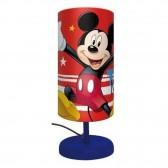 Mickey Cylindre Lámpara de Noche - 29 CM - Rouge