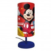 Mickey Cylindre Bedside Lamp - 29 CM - Rode