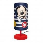 Mickey Cylindre Bedside Lamp - 29 CM - Bleu