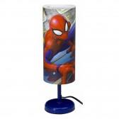 Spiderman Cylindre Bedside Lamp - 29 CM